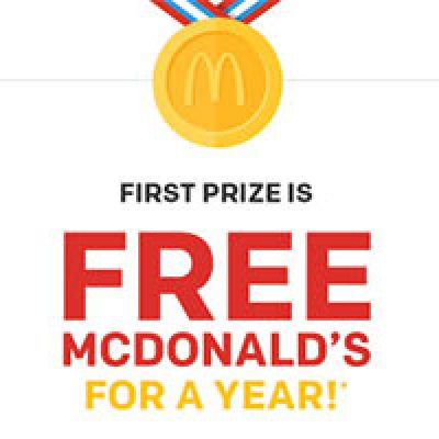 Win McDonald's For a Year