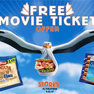 Land O' Frost: Free Storks Movie Ticket W/ Purchase