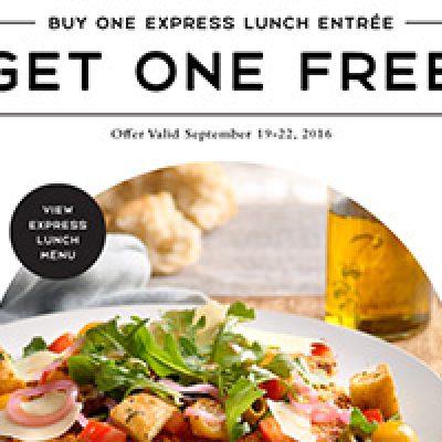 Macaroni Grill: BOGO Free Express Lunch