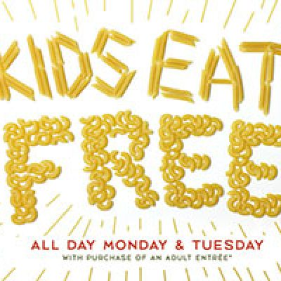 Macaroni Grill: Kid's Eat Free W/ Purchase