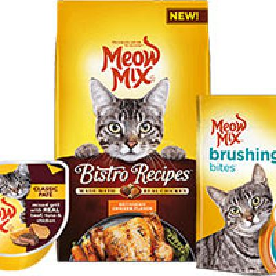 Free Meow Mix Samples W/ Coupons