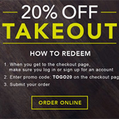 P.F. Chang's: 20% Off Takeout - Ends 9/26