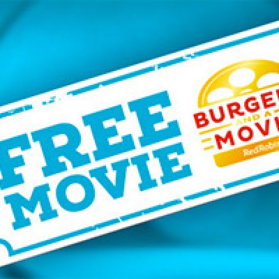 Red Robin: Free Storks Movie Ticket W/ Purchase