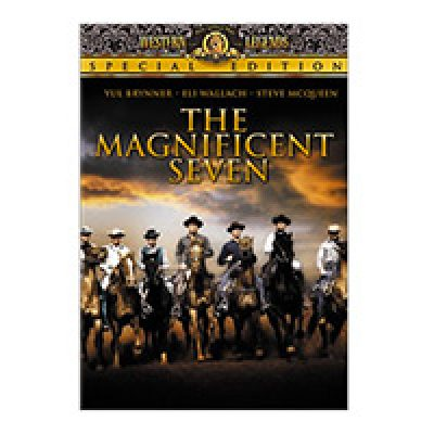 The Magnificent Seven DVD For $3.99 + Prime