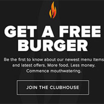 Backyard Burgers: Free Burger