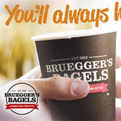 Bruegger's Bagels: BOGO Free Pumpkin Spice Coffee