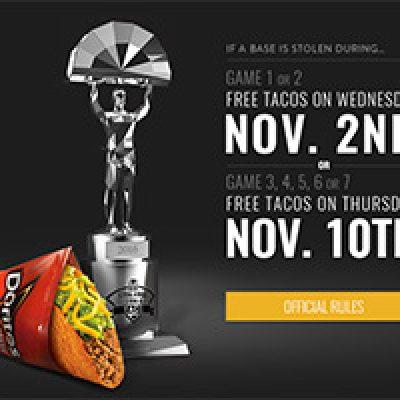 Taco Bell: Possible Free Doritos Locos