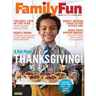 Free FamilyFun Magazine Subscription