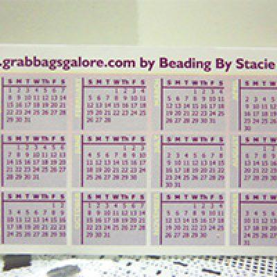 Free Pocket Calendar
