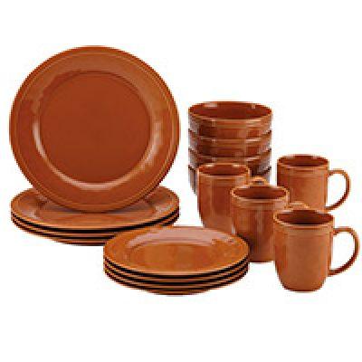 Rachael Ray Cucina 16-Piece Stoneware Dinnerware Set Just $35.19 + Prime