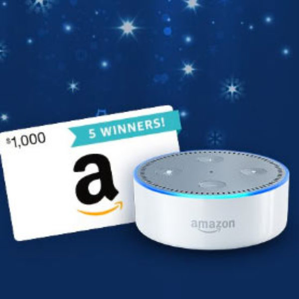 Win a $1,000 Amazon Gift Card - Ends Dec 15th