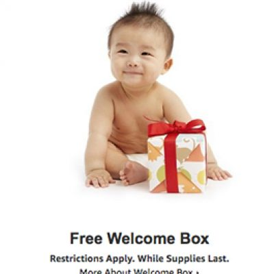 Amazon: Free Baby Registry Welcome Box
