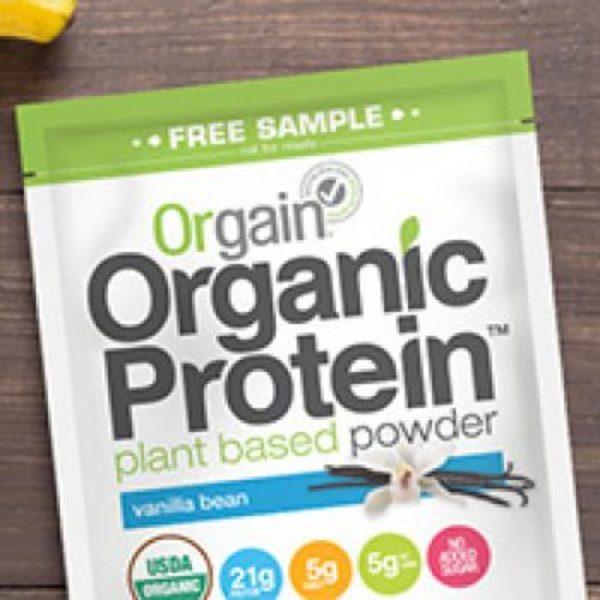 Free Orgain Protein Powder Samples