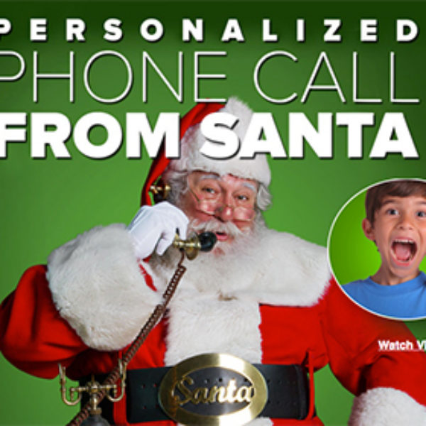 Free Personalized Santa Phone Call & Video Message
