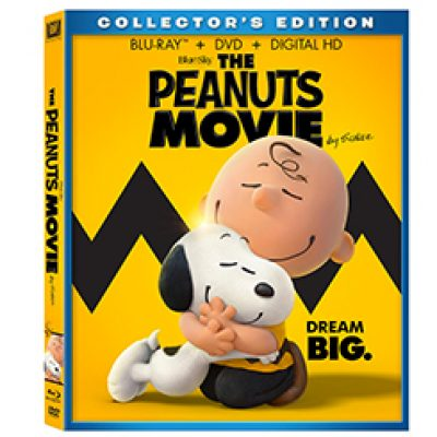 The Peanuts Movie Blu-ray Only $5.99 + Prime