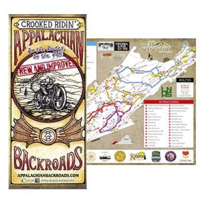 Free Appalachian Backroads Map