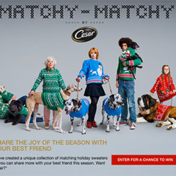 Win a Holiday Sweater For You & Your Dog