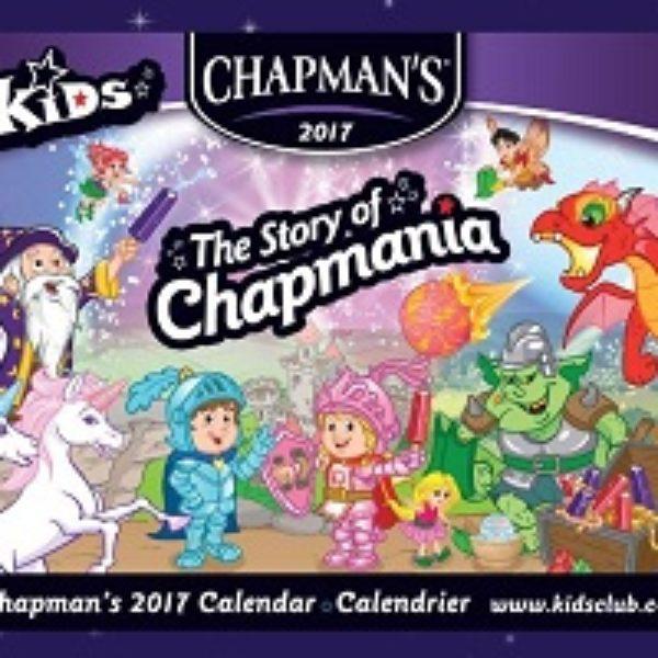 Free 2017 Chapman's Kids Calendar