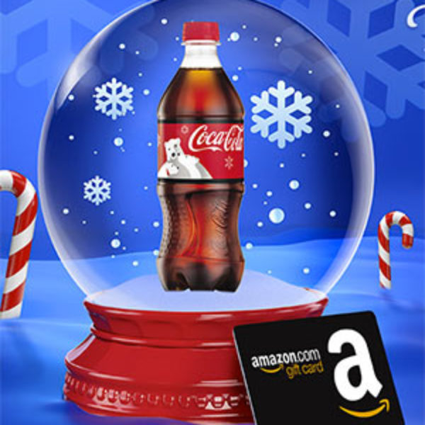 Coca-Cola: Win a Amazon Gift Card Instantly