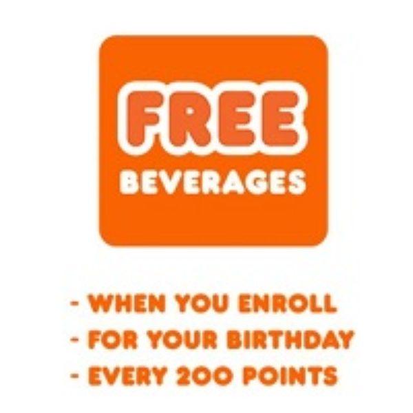 Dunkin' Donuts: Free Medium Beverage
