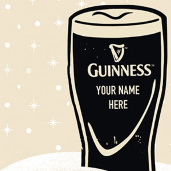 Win a Personalized Guinness Gravity Glass