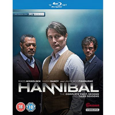 Hannibal: Complete Season 1-3 Blu-ray Boxed Set Just $19.99 (Reg $34.99) + Free Shipping