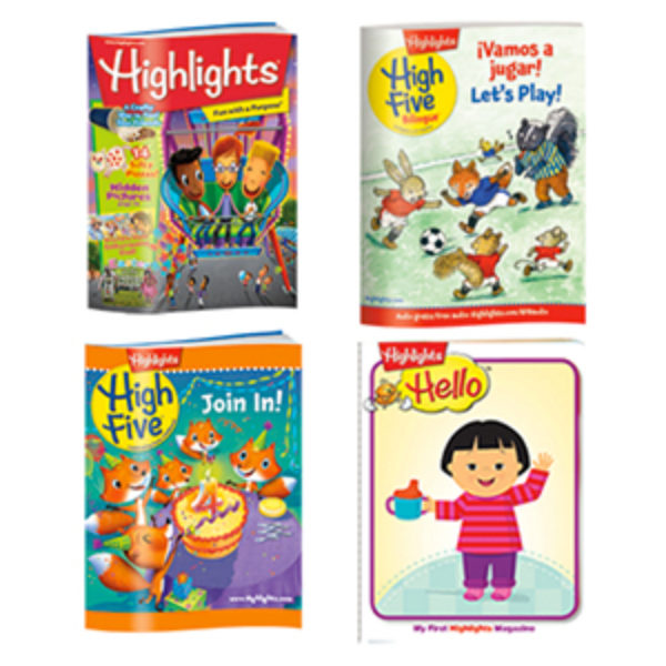 Free 3-Month Highlights Magazine Subscription
