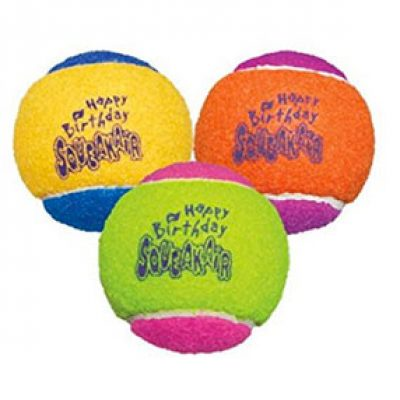 KONG Air Dog Balls (3-Pack) Just $3.39 As Prime Add-On