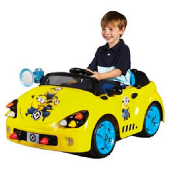 Minions Electric Ride-On Just $99.00 (Reg $199.00) + Free Shipping