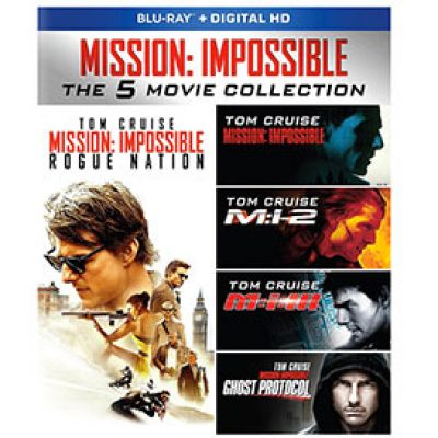Mission: Impossible Collection Blu-ray Just $18.99 (Reg $36.47) + Prime