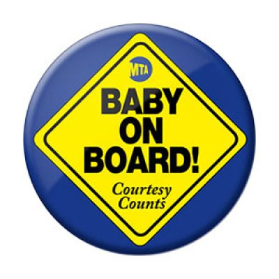 Free Baby On Board Pin