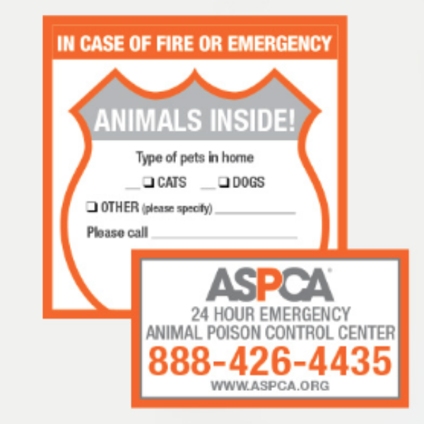 Free ASPCA Pet Safety Pack