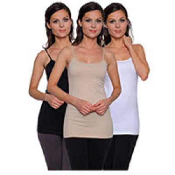 Women's Seamless Basic Camis 3-Pack Just $9.95 + Prime