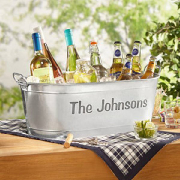 Personalized Beverage Tub Just $23.71 + Free Pickup