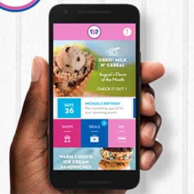 Baskin-Robbins: Free Scoop W/ App Download