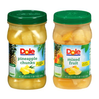 Dole Jarred Fruit Coupon
