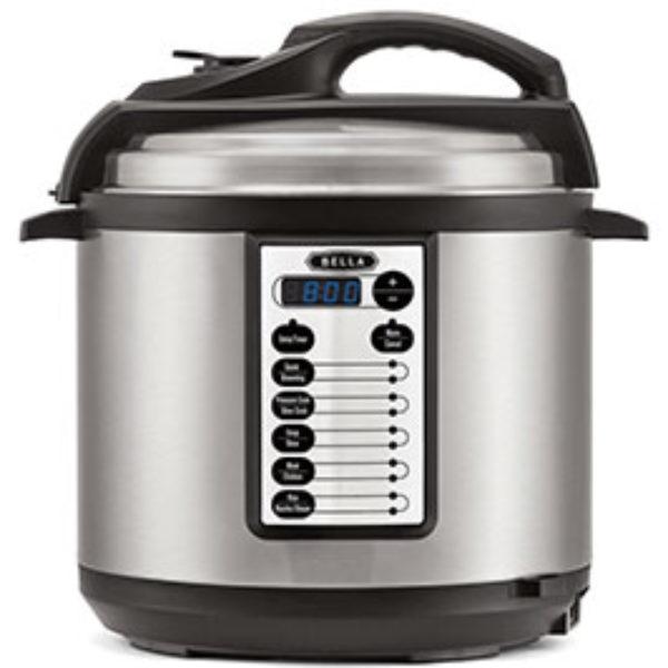 BELLA 6 Quart Pressure Cooker Just $59.99 (Reg $80)