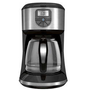 Black And Decker Coffee Maker Time : Black & Decker 12-Cup Coffeemaker Just USD 24.99 (Reg USD 39.99) + Free Shipping - Oh Yes It s Free