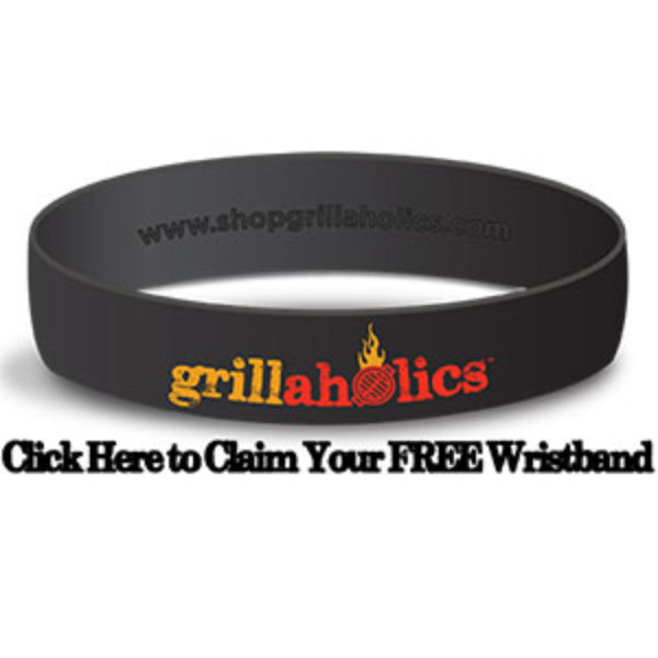Free Grillaholics Wristband