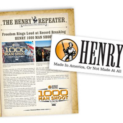 Free Henry Repeating Arms Decal & More