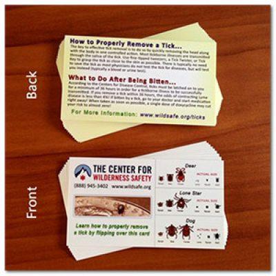 Free Tick ID Cards