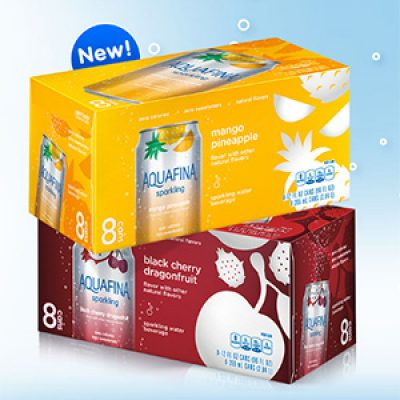 Win a Year's Supply of Aquafina Sparkling + Coupon