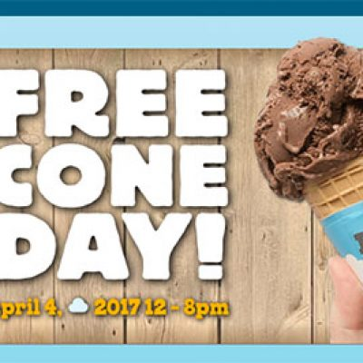 Ben & Jerry's: Free Cone Day - April 4th