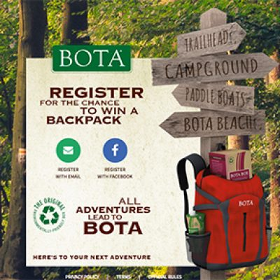 Win 1 of 100 Bota Box Backpacks