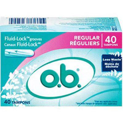 Free O.B. Tampons Samples