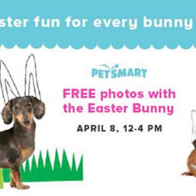 PetSmart: Free Photo W/ Easter Bunny - April 8