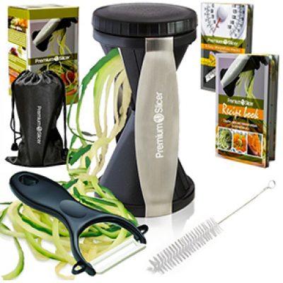 Premium Vegetable Spiralizer Bundle Just $11.97 ($39.97) + Prime