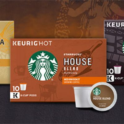 Starbucks K-Cup Coupons