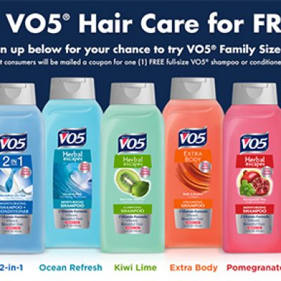 Free VO5 Hair Care (If You Qualify)