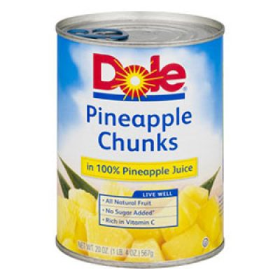 Dole Canned Fruit Coupon